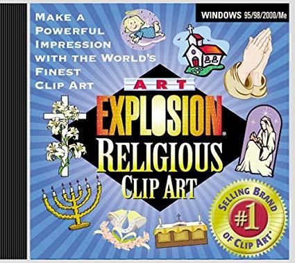 Art Explosion Religious Clip Art: Amazon.co.uk: Software.