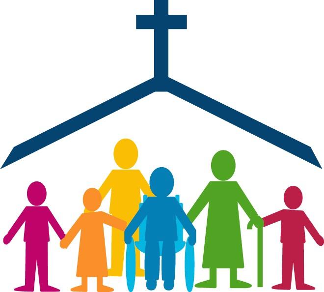 Clip Art Church Family And Friend Clipart.