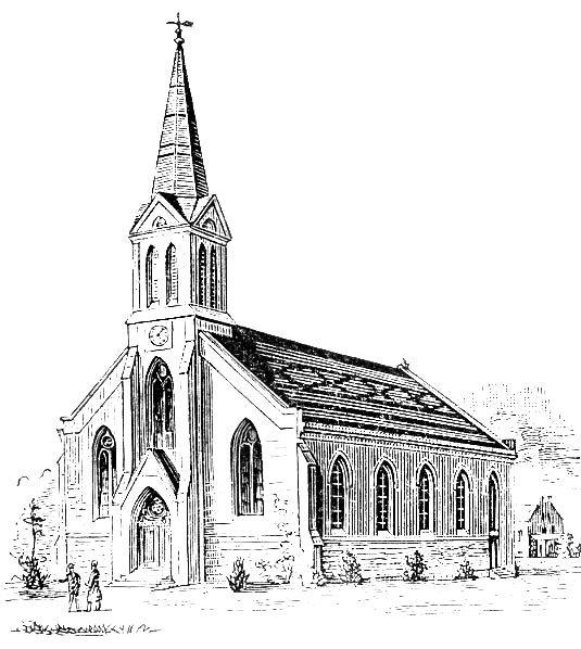 church clipart black and white.