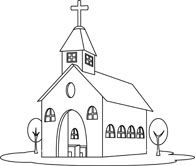 Creative Inspiration Church Clipart Black And White Free 101 Clip.