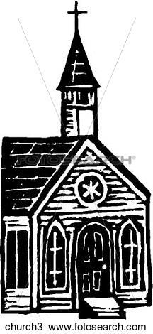 Clipart of Church 3 church3.