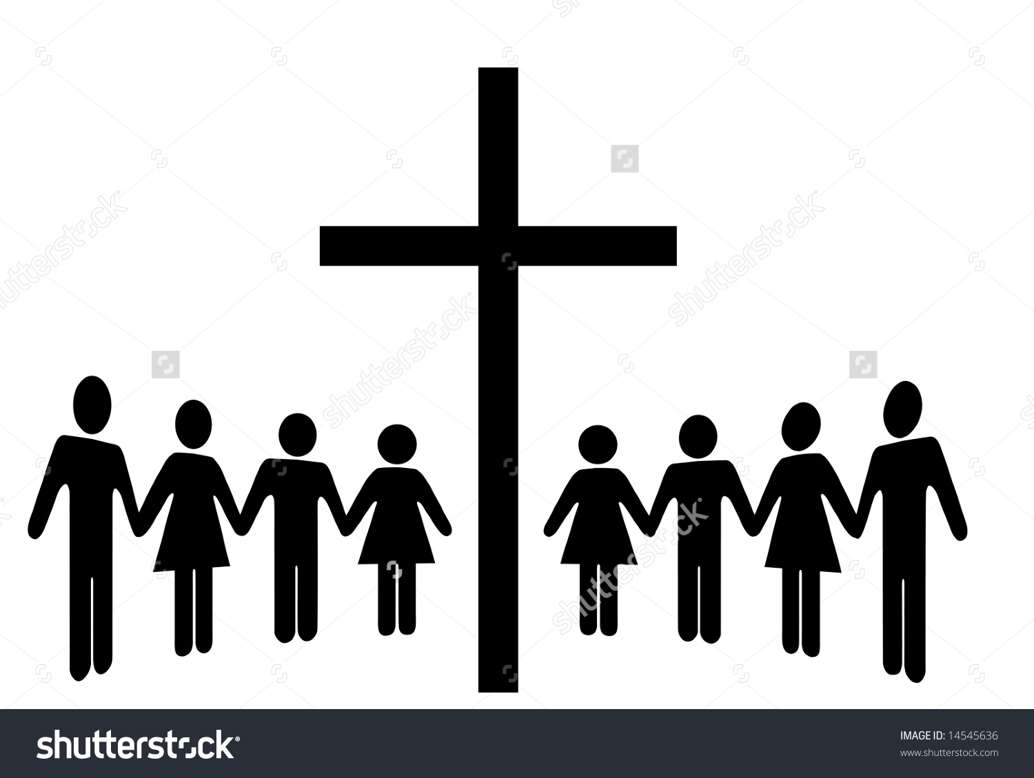 Church Congregation Clipart.