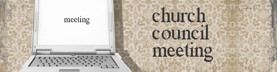 Clip Art of Church Council.