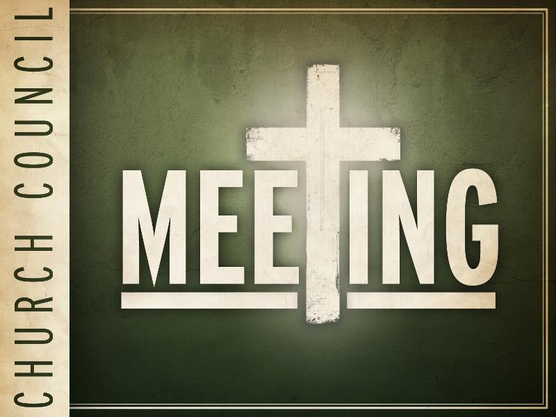 Living Saviour Lutheran Church » Church Council Meeting.