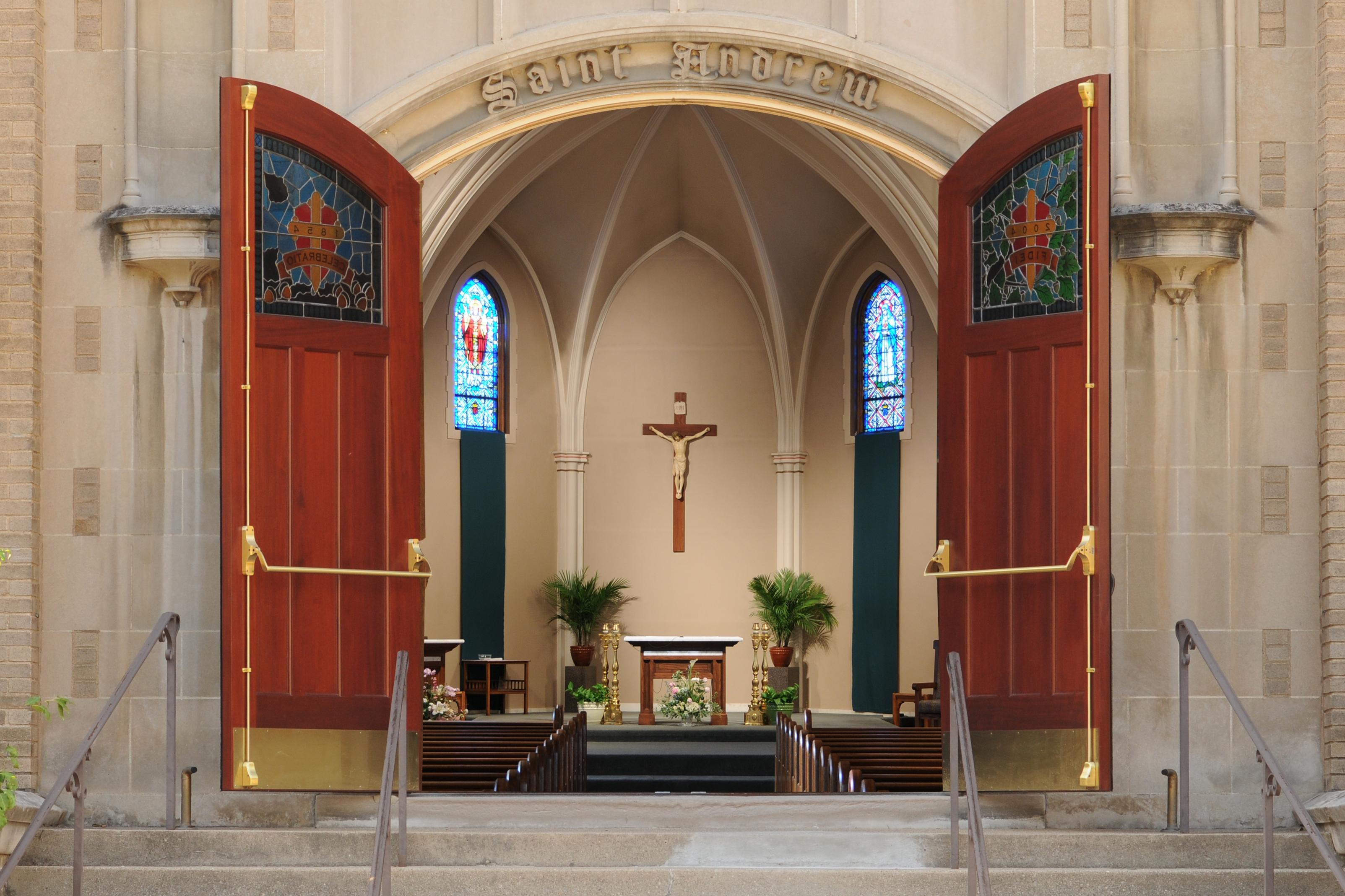 Open Church Door Clipart Decorating Ideas 46761 Doors.