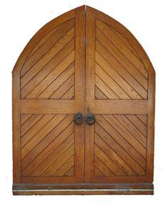 Open church door clipart.