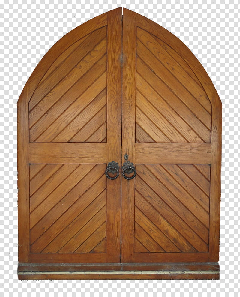Church Doors transparent background PNG clipart.