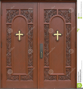Church Doors Clipart.
