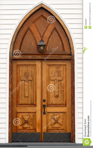 Free Clipart Of Church Doors.