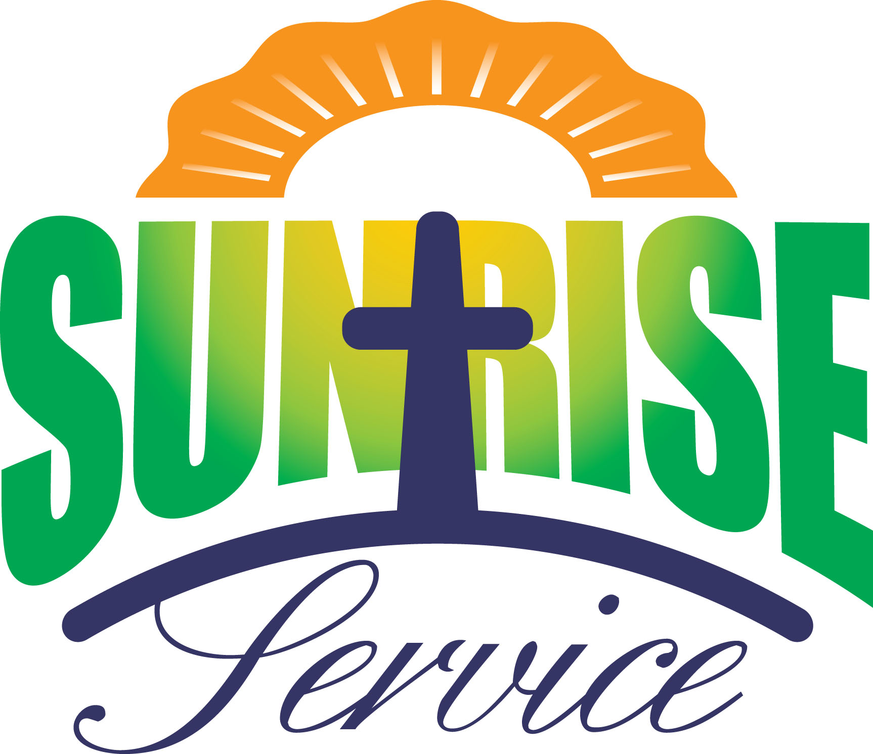 Easter Sunrise Clipart.