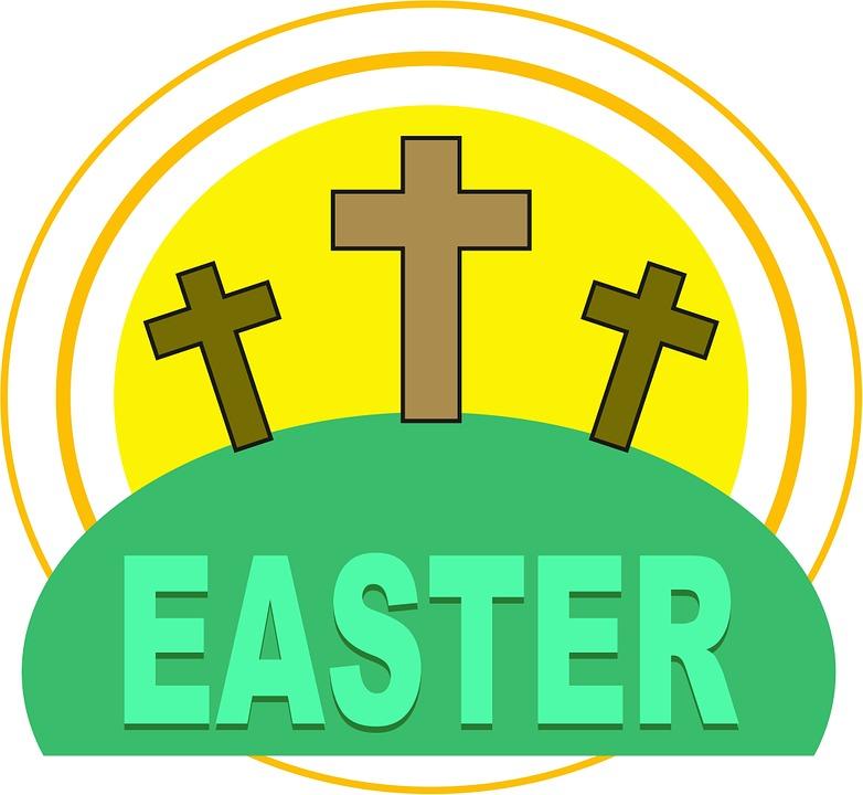 Easter clip art church.
