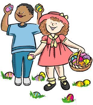 180 Easter Egg Hunt free clipart.