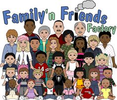 Church Friends And Family Clipart.