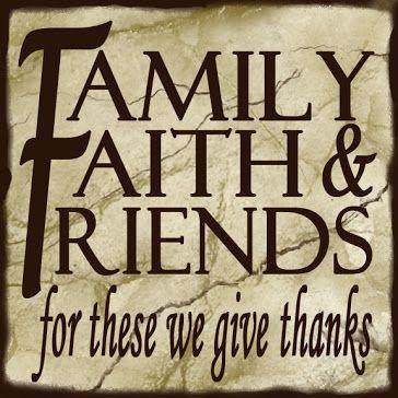 Faith Family Friends Clip Art.