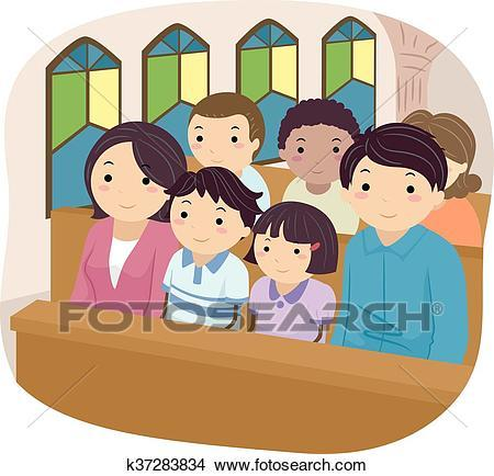 Family in church clipart 3 » Clipart Portal.