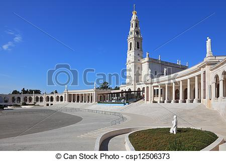 Picture of The religious complex in the small town of Fatima.