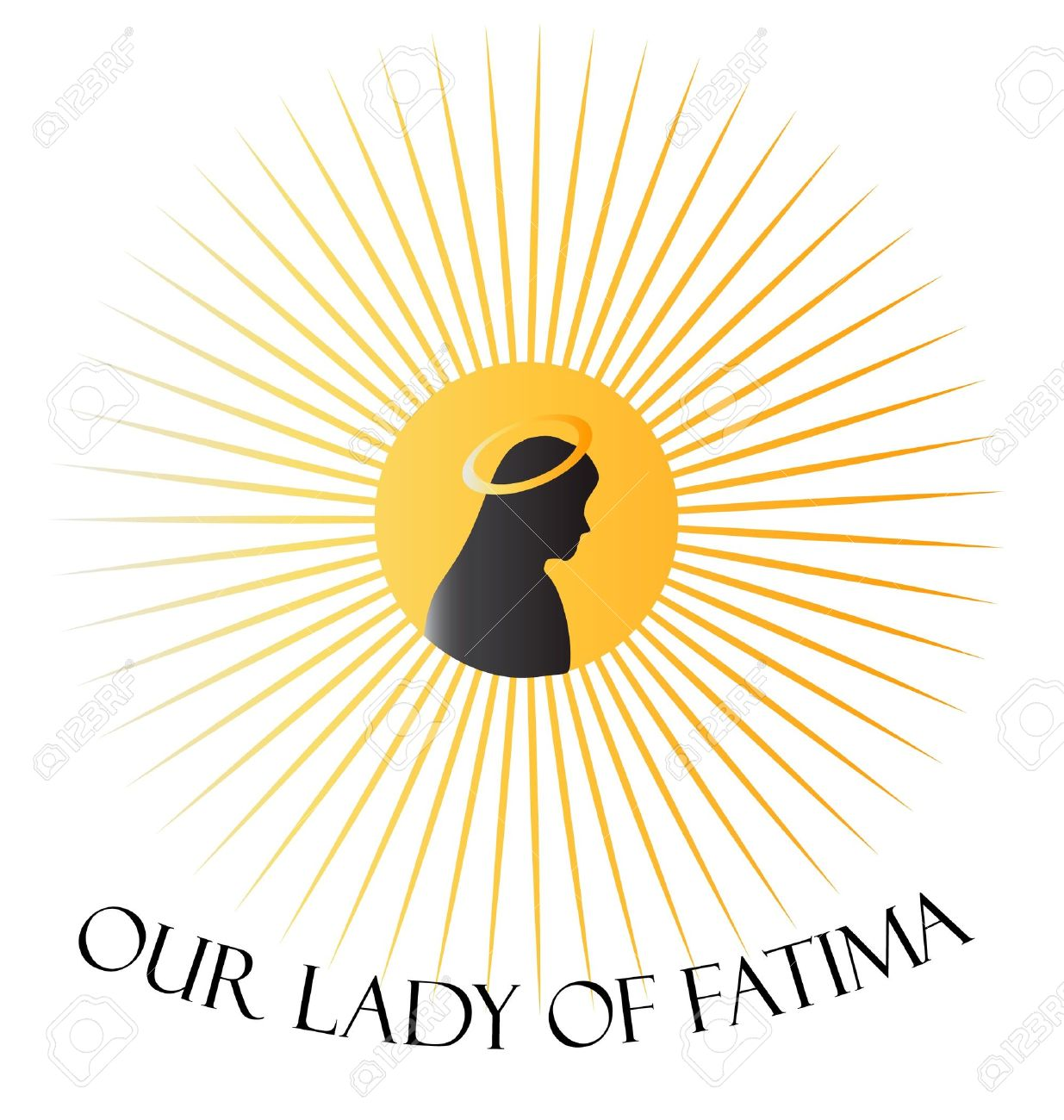 Our Lady Of Fatima Virgen Mary Royalty Free Cliparts, Vectors, And.