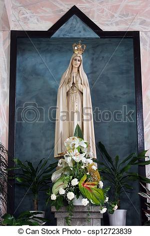 Stock Photos of Our lady of Fatima csp12723839.