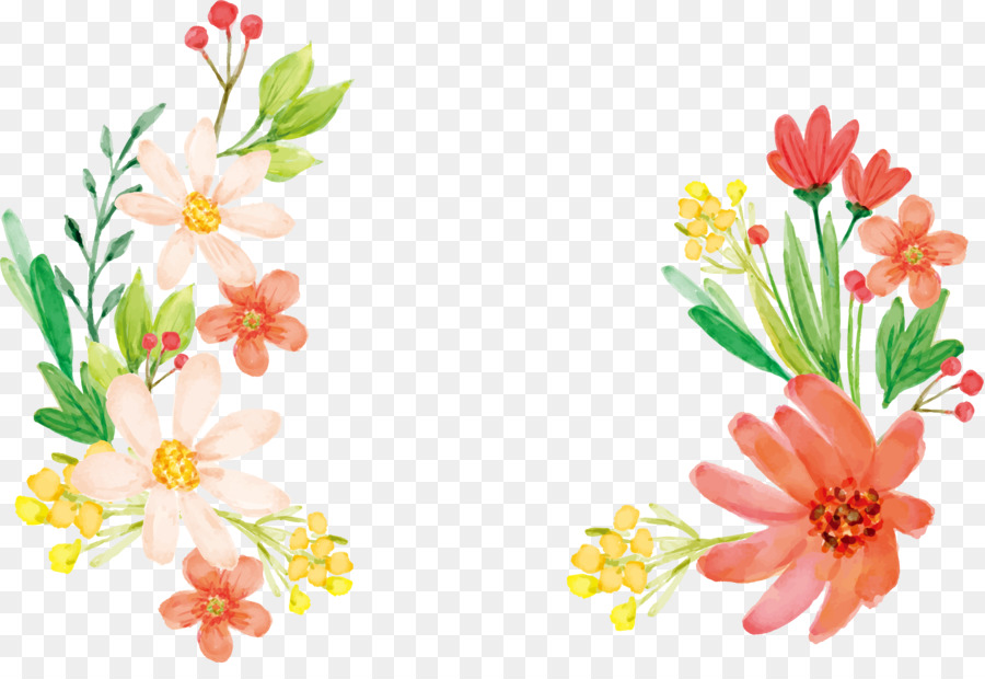 Flowers Clipart Background png download.