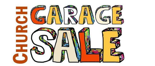 Church Garage Sale.