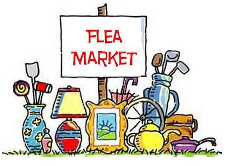 Flea Market at St. Mary\'s Episcopal Church, Cathedral Road.
