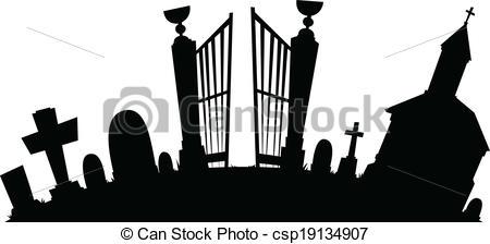 Graveyard Clipart and Stock Illustrations. 9,590 Graveyard vector.