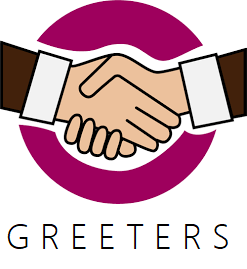 Greeters Clipart.