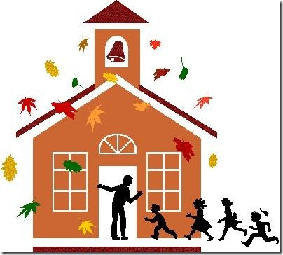 Cute Schoolhouse Clipart.
