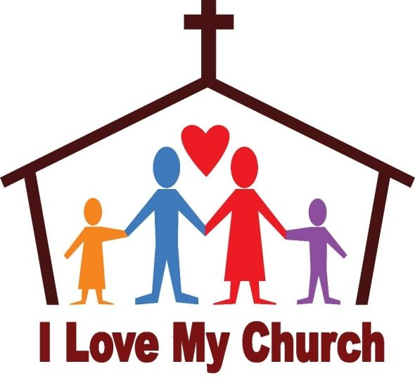 Church Family Clipart.