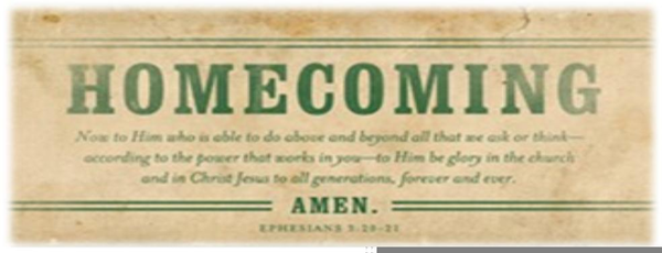 Religious Homecoming Clipart.