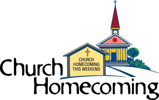 Church Homecoming Clip Art.