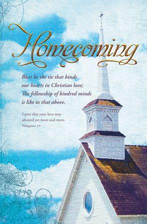 Church Homecoming Celebration Clip Art.