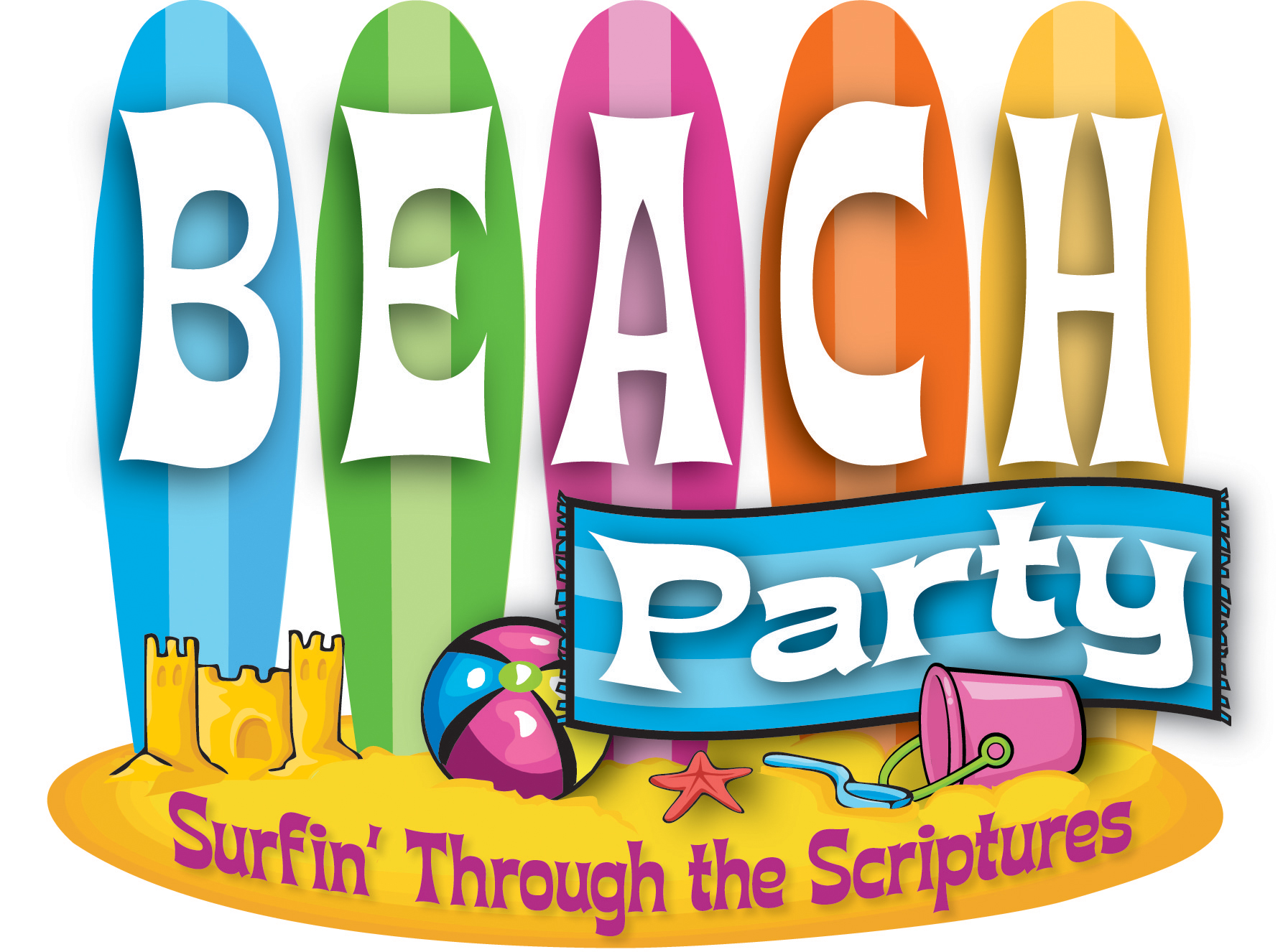 Summer Church Festivals Clipart.