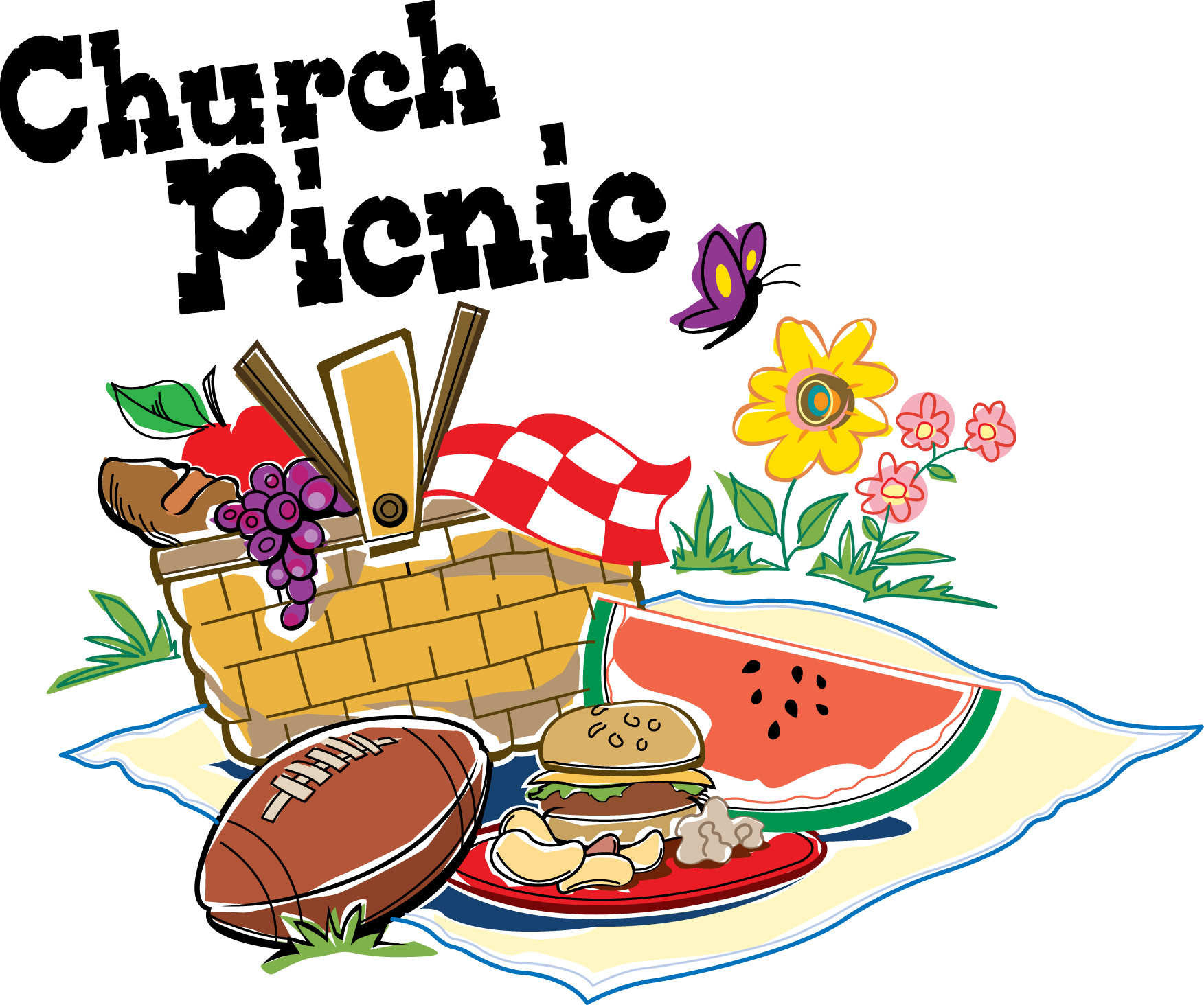 Church Fellowship Dinner Clipart.