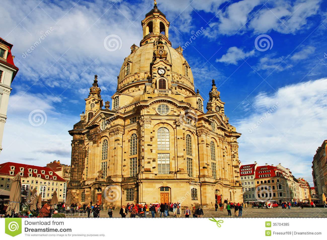 Dresden Frauenkirche Literally Church Of Our Lady Is A Lutheran.
