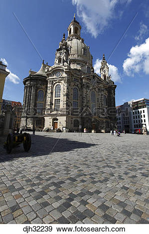 Stock Photograph of Germany, Saxony, Dresden, Old Town.