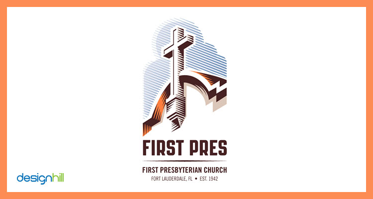 church logo design.