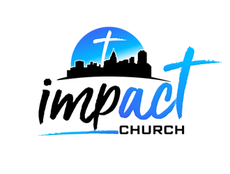 Impact Church logo design.