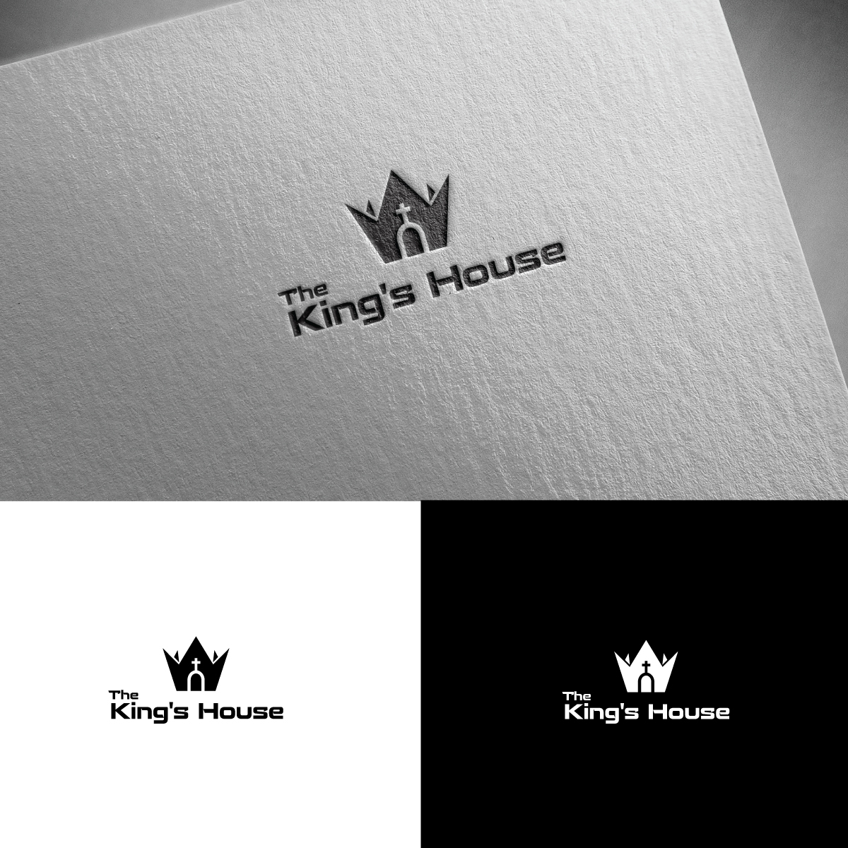Modern, Bold, Church Logo Design for The King\'s House by.
