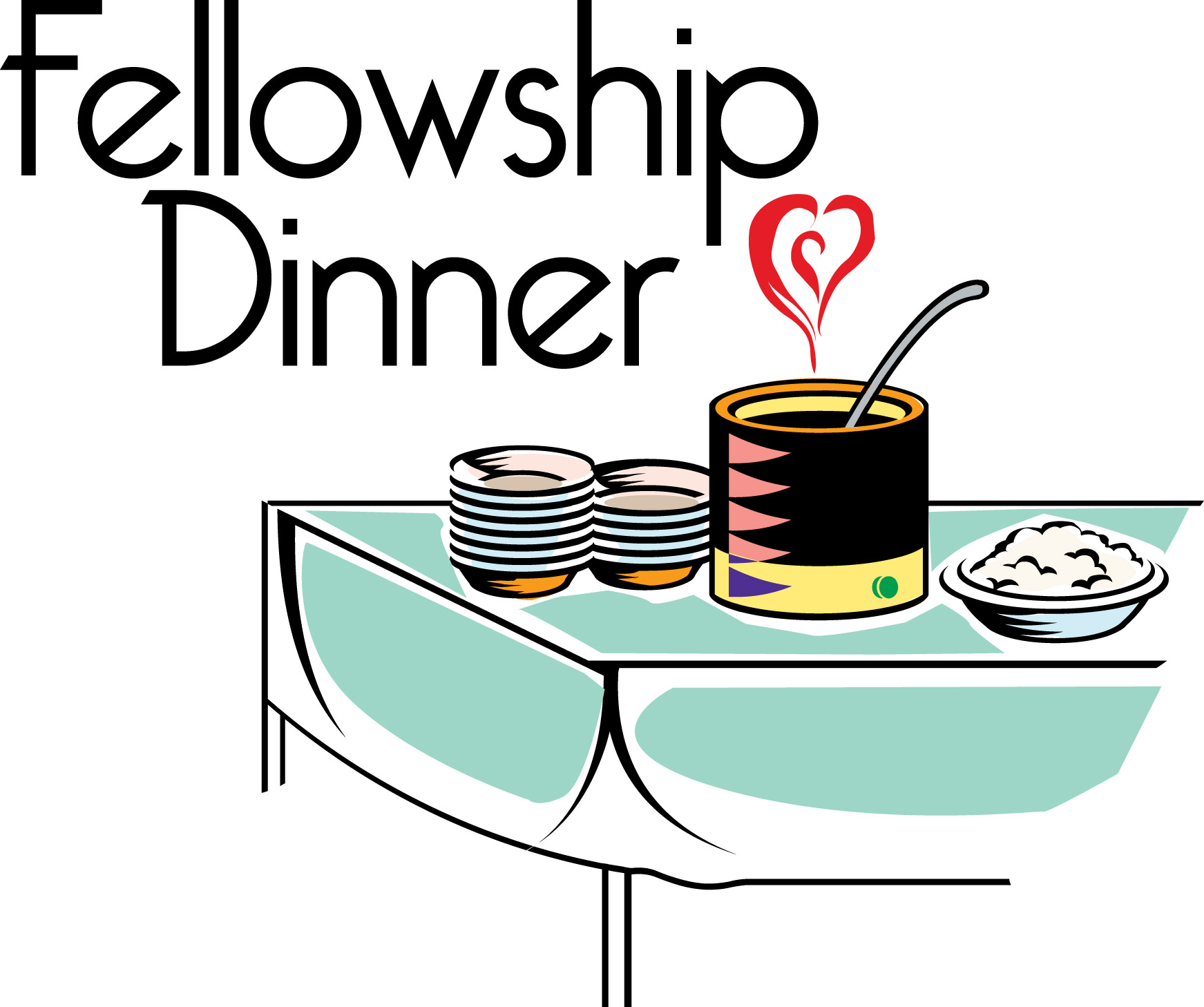 Church Fellowship Meal Clip Art image in Vector cliparts category at.