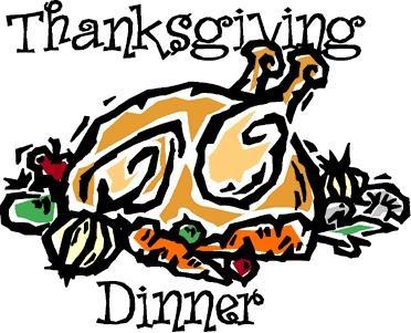 Thanksgiving clip art meal.