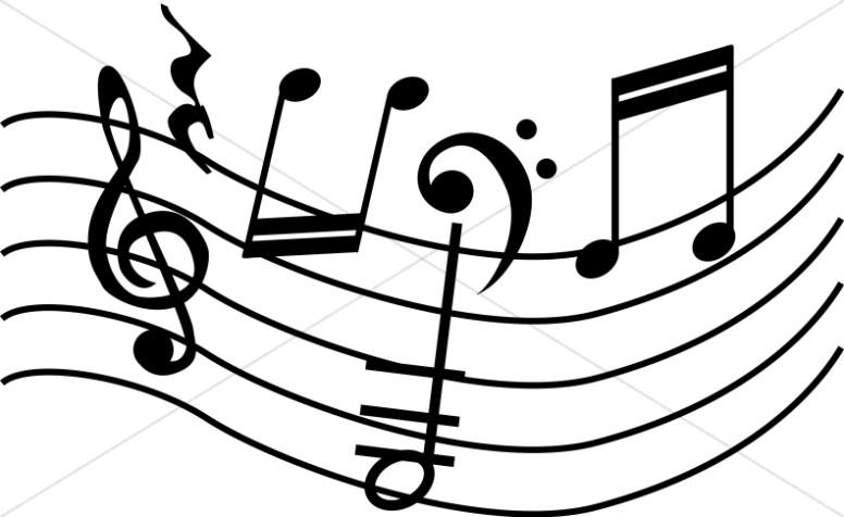 Church Music Clipart, Church Music Image, Church Music Graphic.