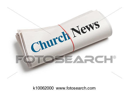 Church News Stock Image.