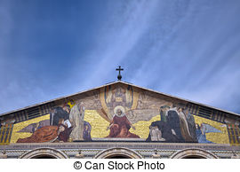 Stock Image of Church of All Nations.