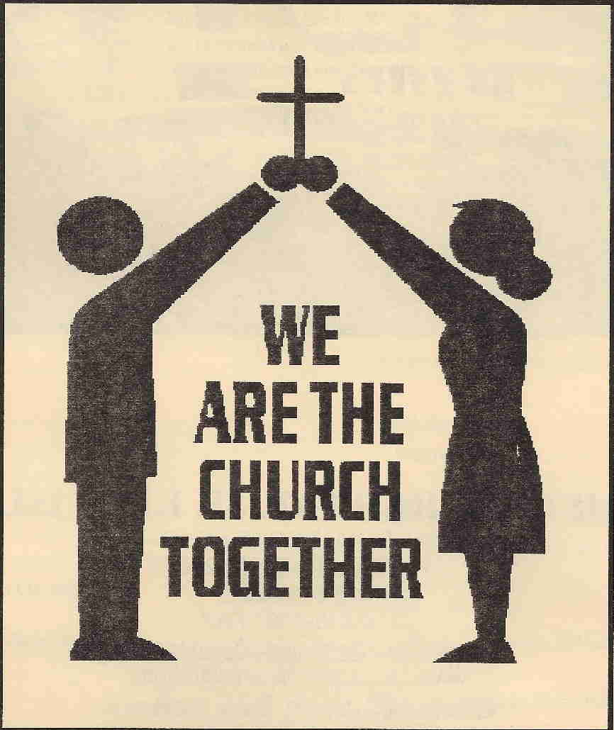 Church Together Clipart.