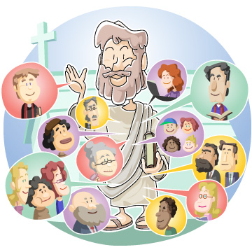 Christian clipArts.net _ Church is the body of Christ.