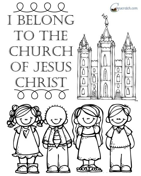 Behold Your Little Ones Lesson 25: I Belong to The Church of Jesus.