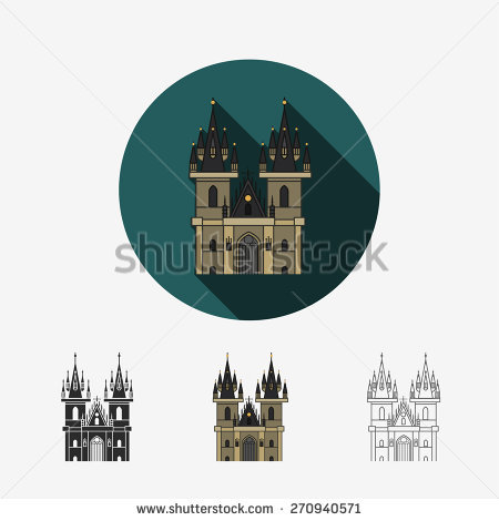 Church Of Our Lady Stock Vectors & Vector Clip Art.