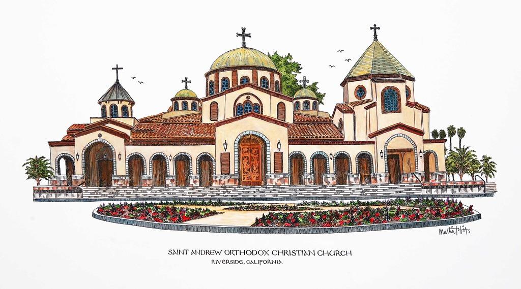 Saint Andrew Orthodox Church.