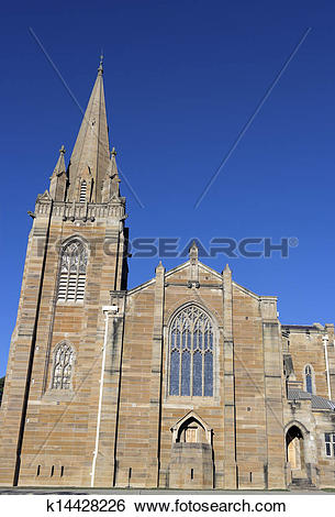Stock Images of St. Andrew Church in Canberra k14428226.